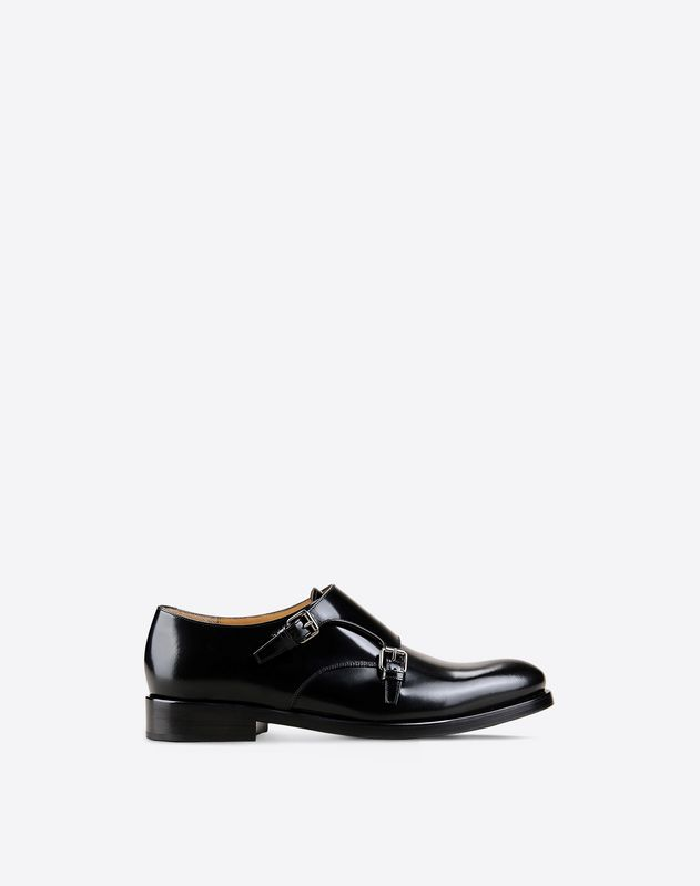 Double Monk Strap Derby Shoe