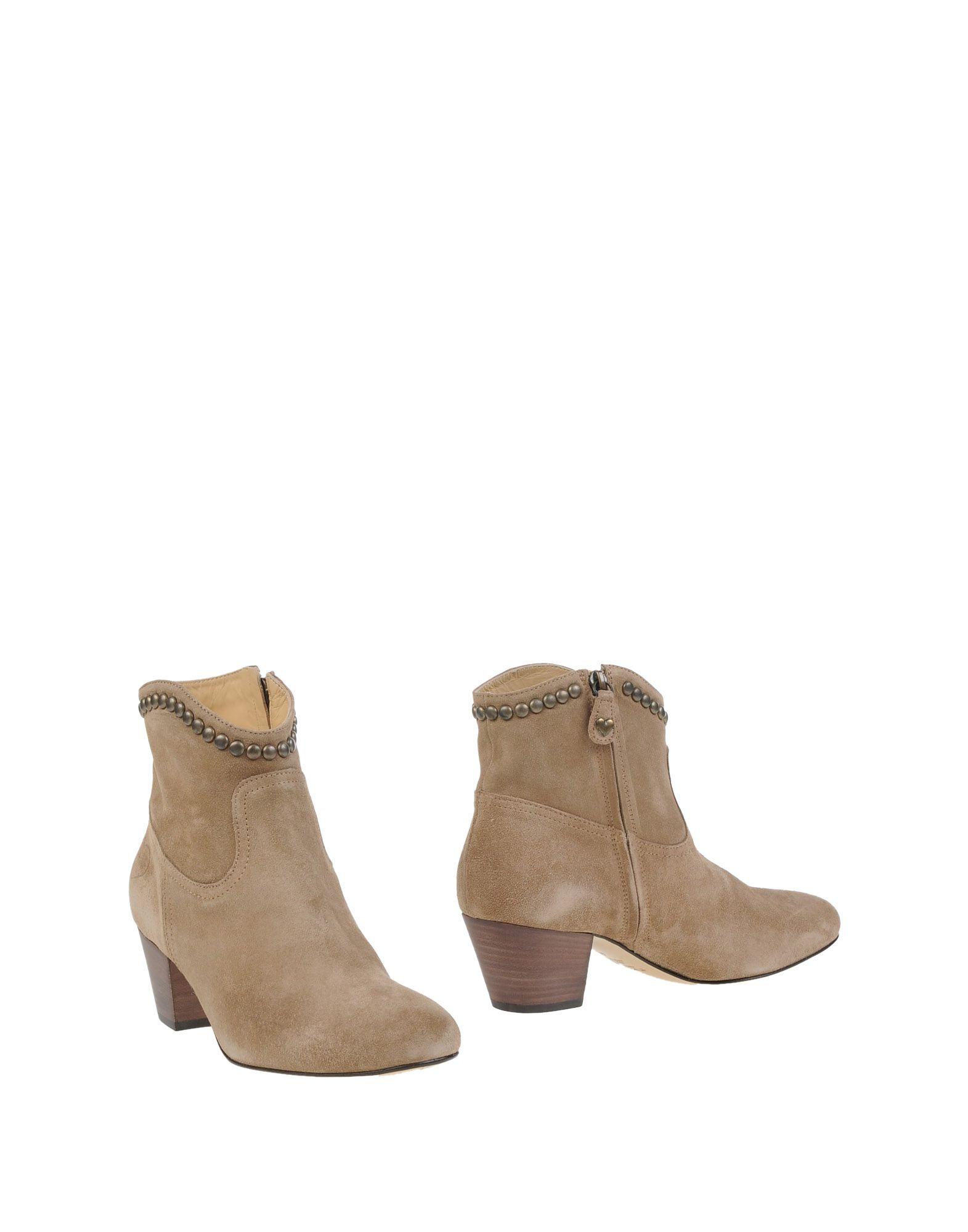 TWINSET Полусапоги и высокие ботинки grey mer полусапоги и высокие ботинки