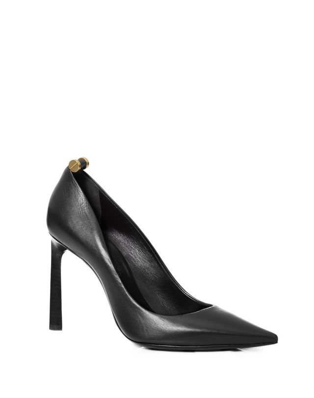 LANVIN Calfskin pumps with rivets Pumps D f