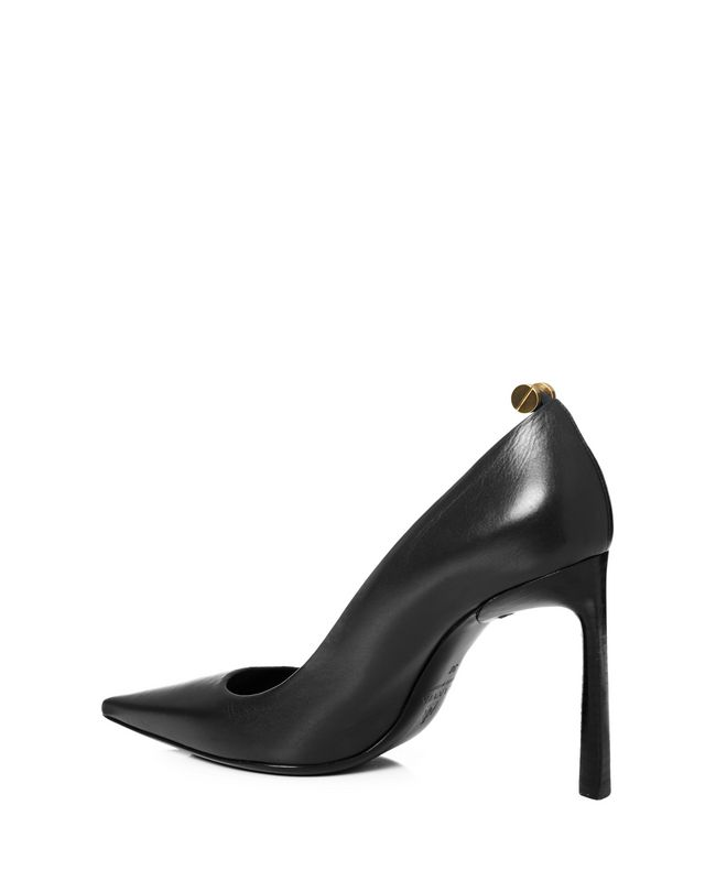 LANVIN Calfskin pumps with rivets Pumps D r