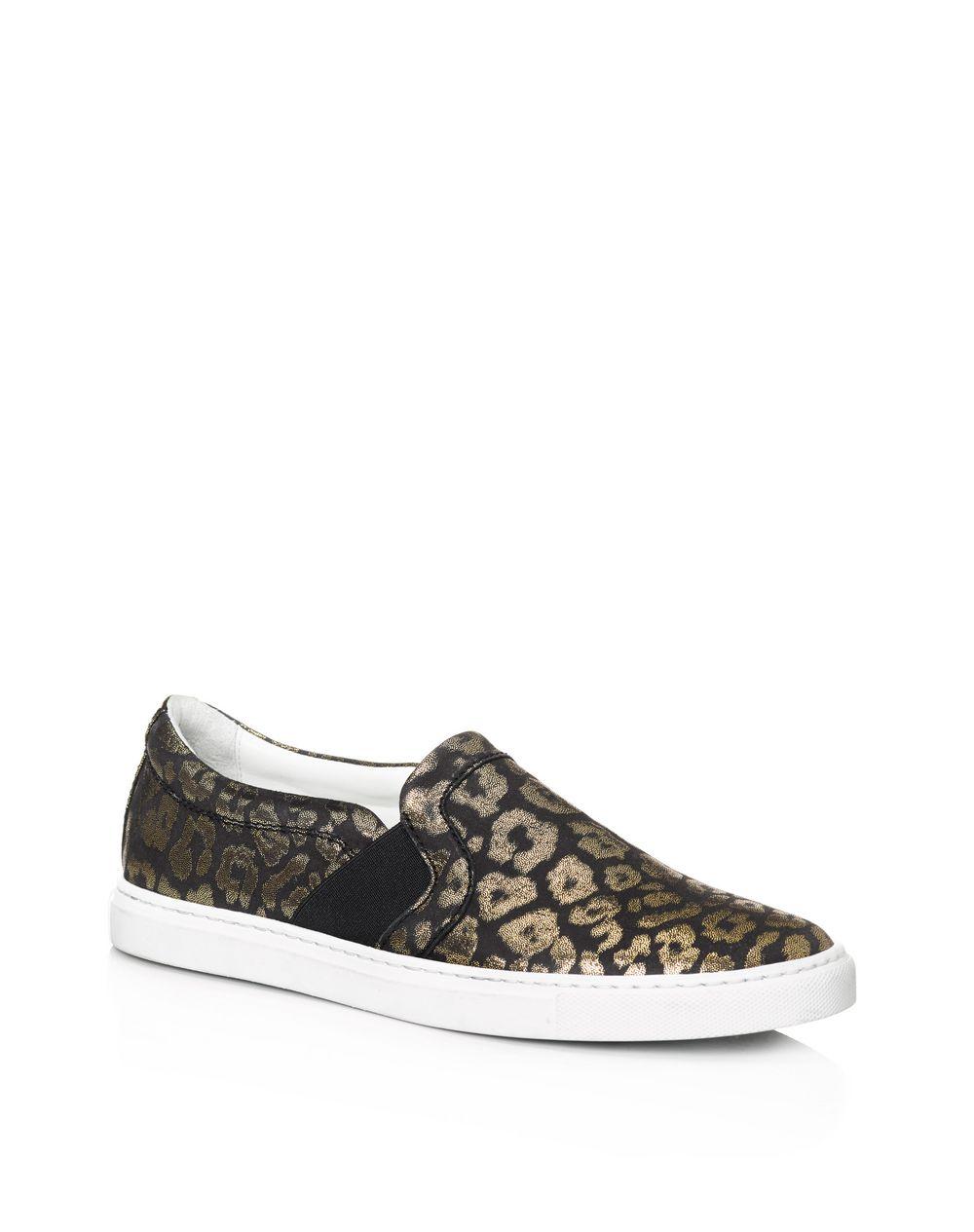 size 40 91d7b a9d30 Sneakers Slip On Laminate Leopardate Lanvin, Sneakers Donna ...