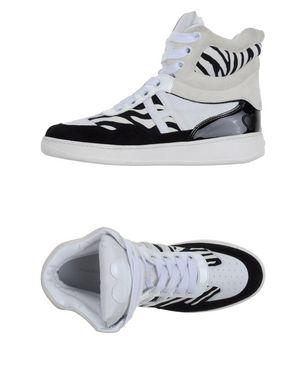 KATIE GRAND LOVES HOGAN Damen High Sneakers & Tennisschuhe Farbe Weiß Größe 9 Sale Angebote Klein Döbbern