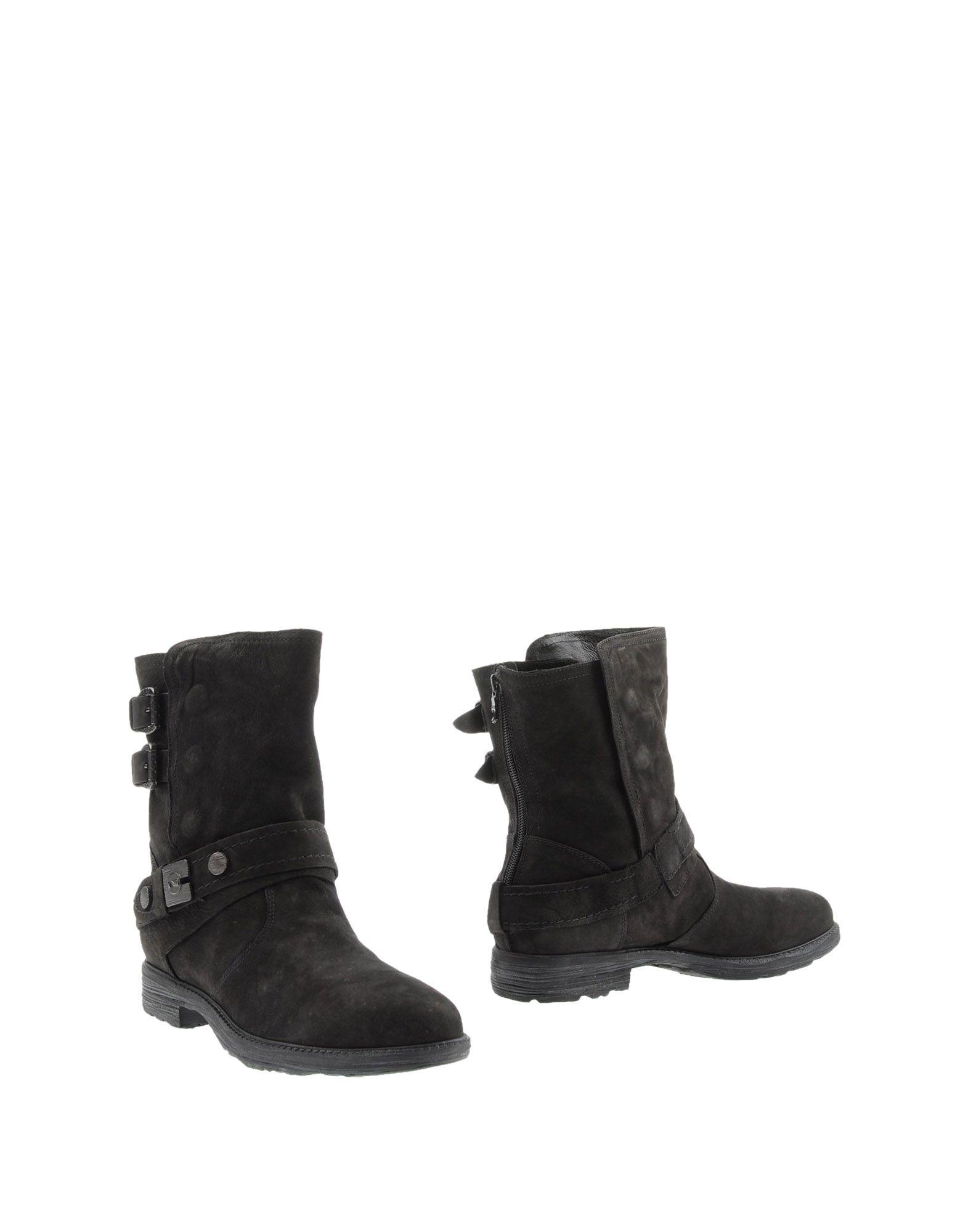 NERO GIARDINI Полусапоги и высокие ботинки grey mer полусапоги и высокие ботинки