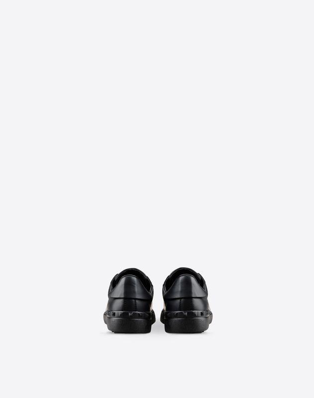 Metallic Open Sneaker