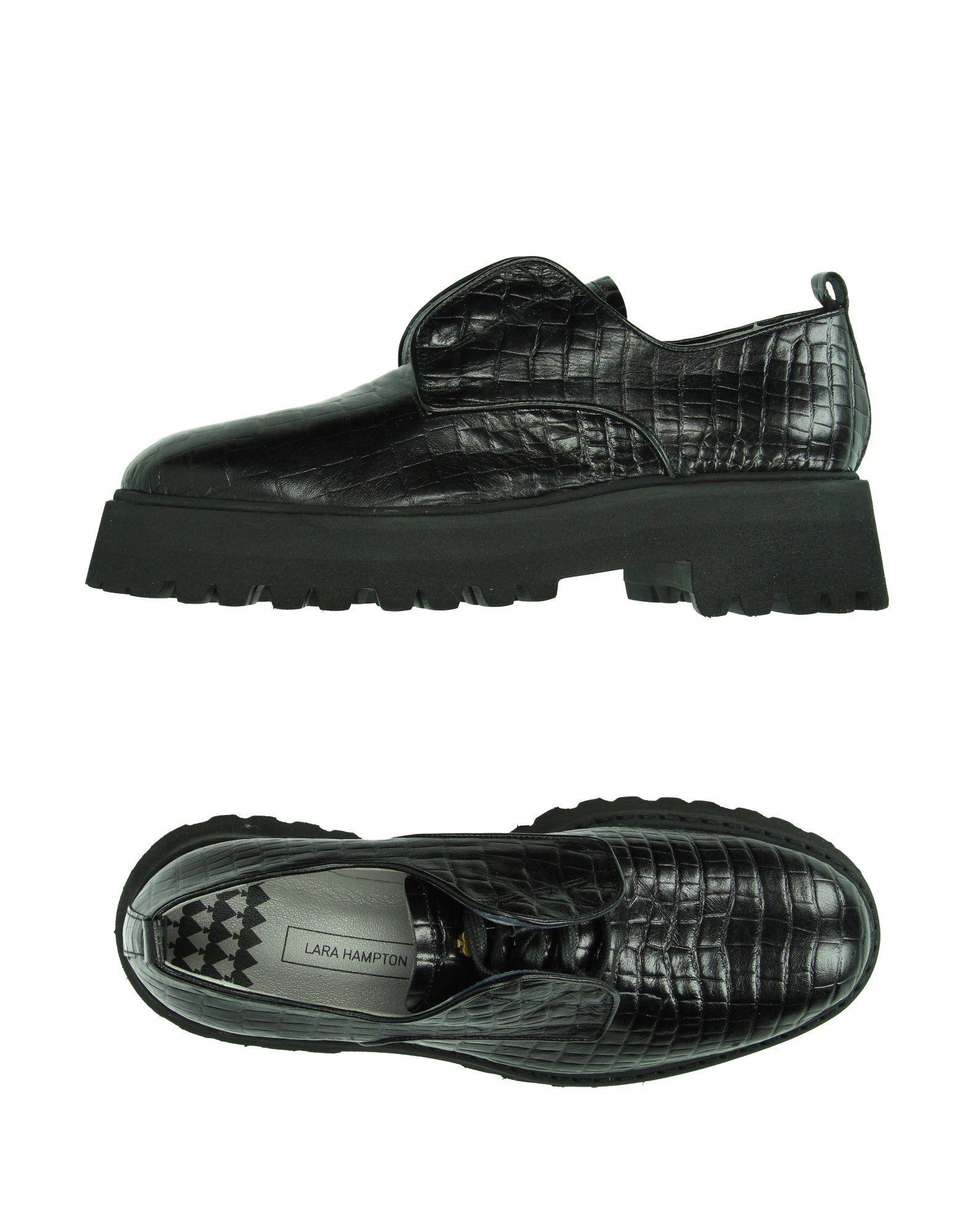 LARA HAMPTON Обувь на шнурках цены онлайн