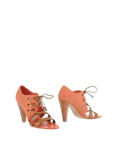 Фото - Женские ботинки и полуботинки  лососево-розового цвета