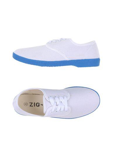 Фото - Низкие кеды и кроссовки от ZIG - ZAG белого цвета