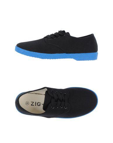 Фото - Низкие кеды и кроссовки от ZIG - ZAG черного цвета