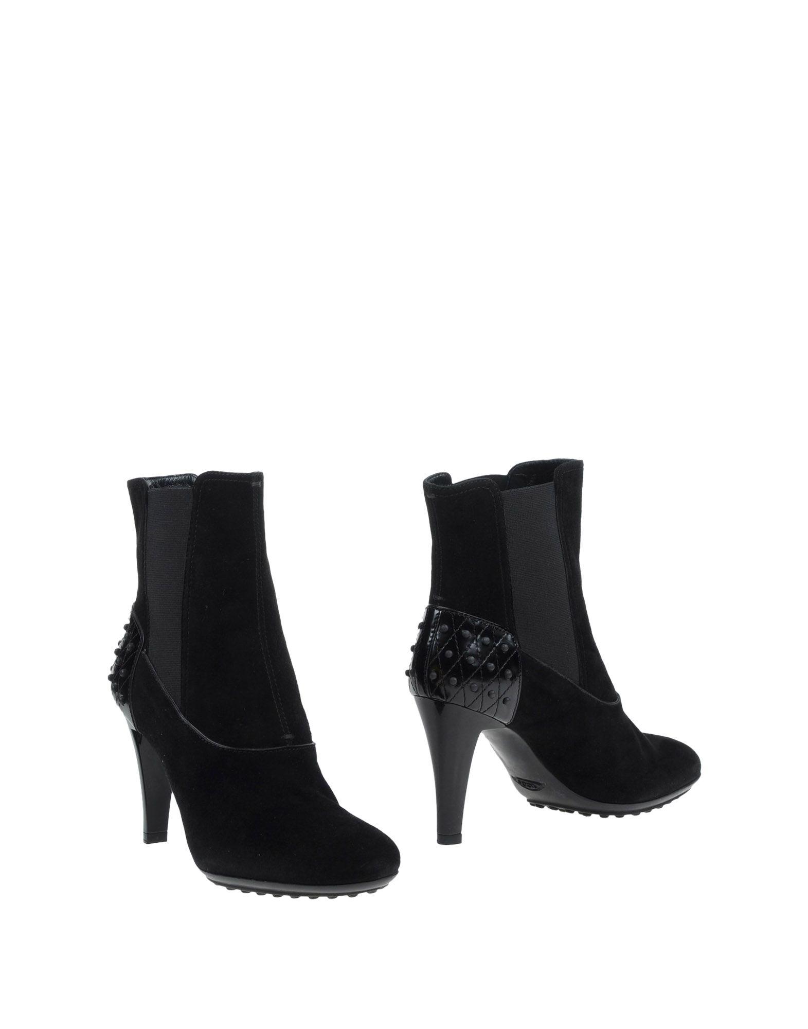 TOD'S Полусапоги и высокие ботинки ботинки yuppy