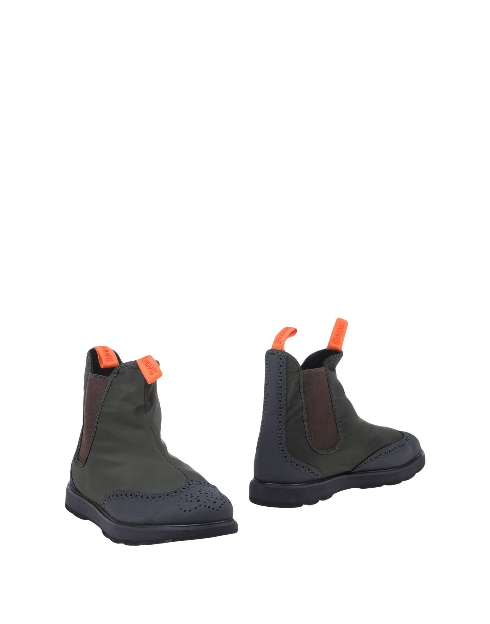 цена SWIMS Полусапоги и высокие ботинки онлайн в 2017 году