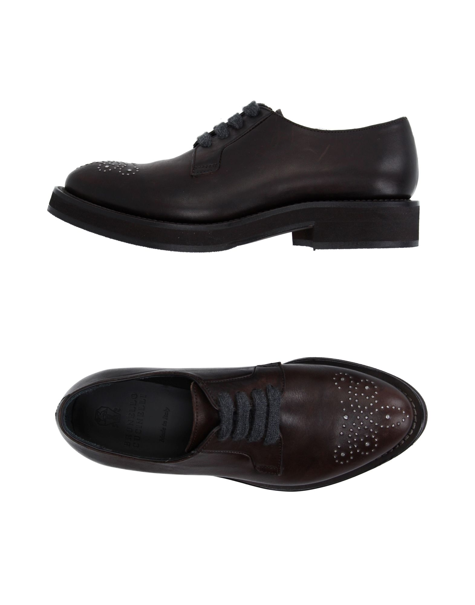 купить BRUNELLO CUCINELLI Обувь на шнурках дешево