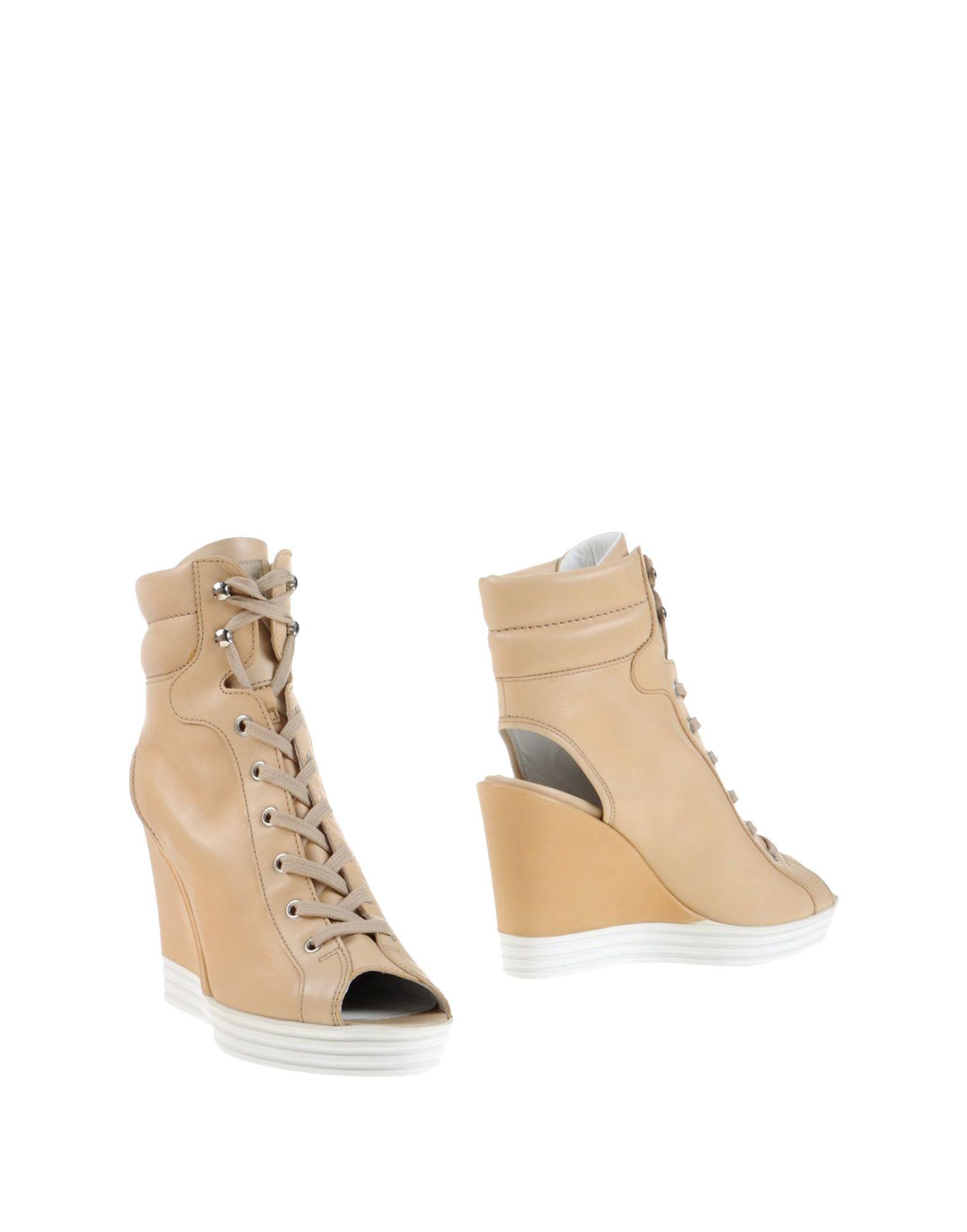 HOGAN REBEL Полусапоги и высокие ботинки цены онлайн