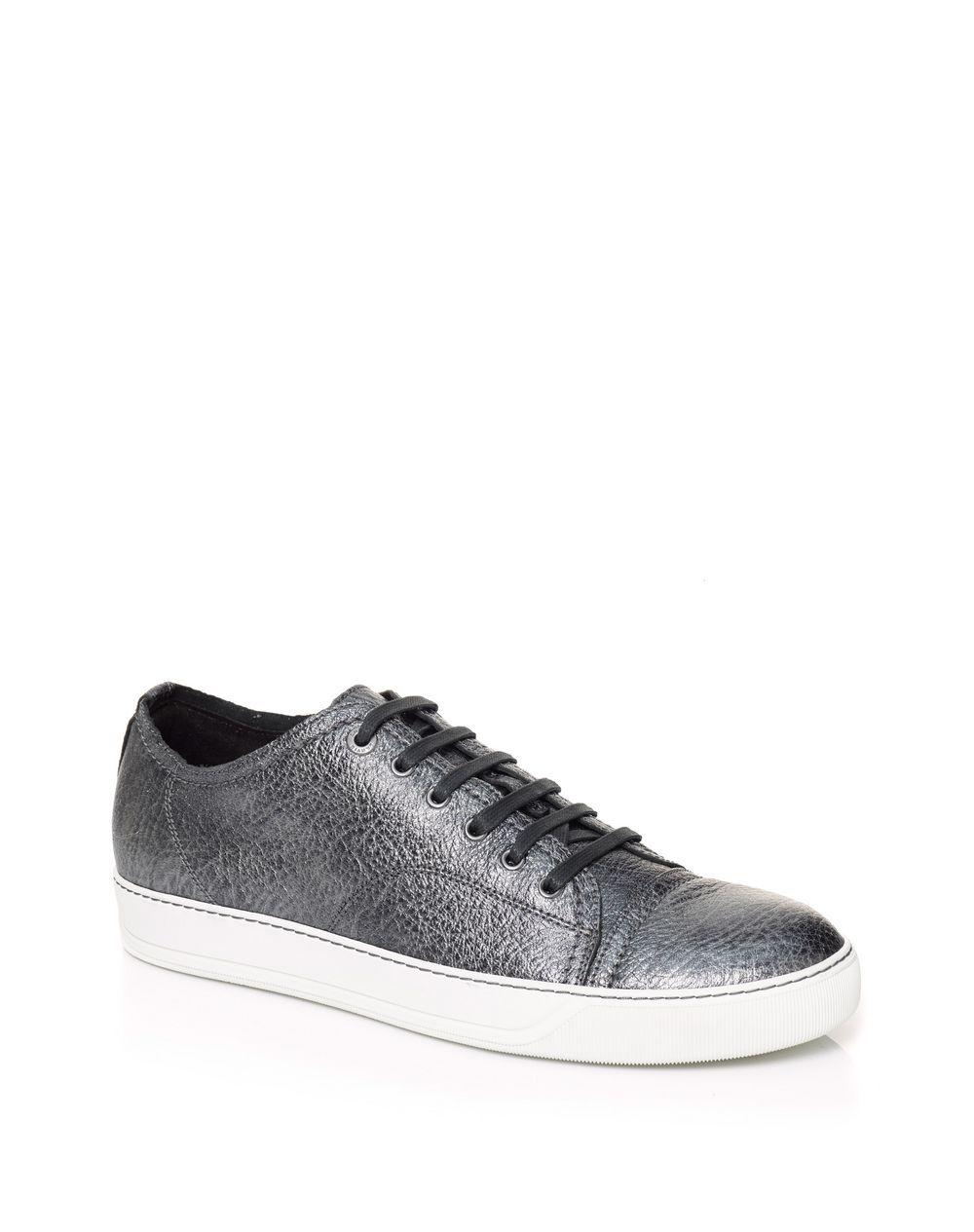 metallic low-top sneakers - Grey Lanvin vnPg5hLQa