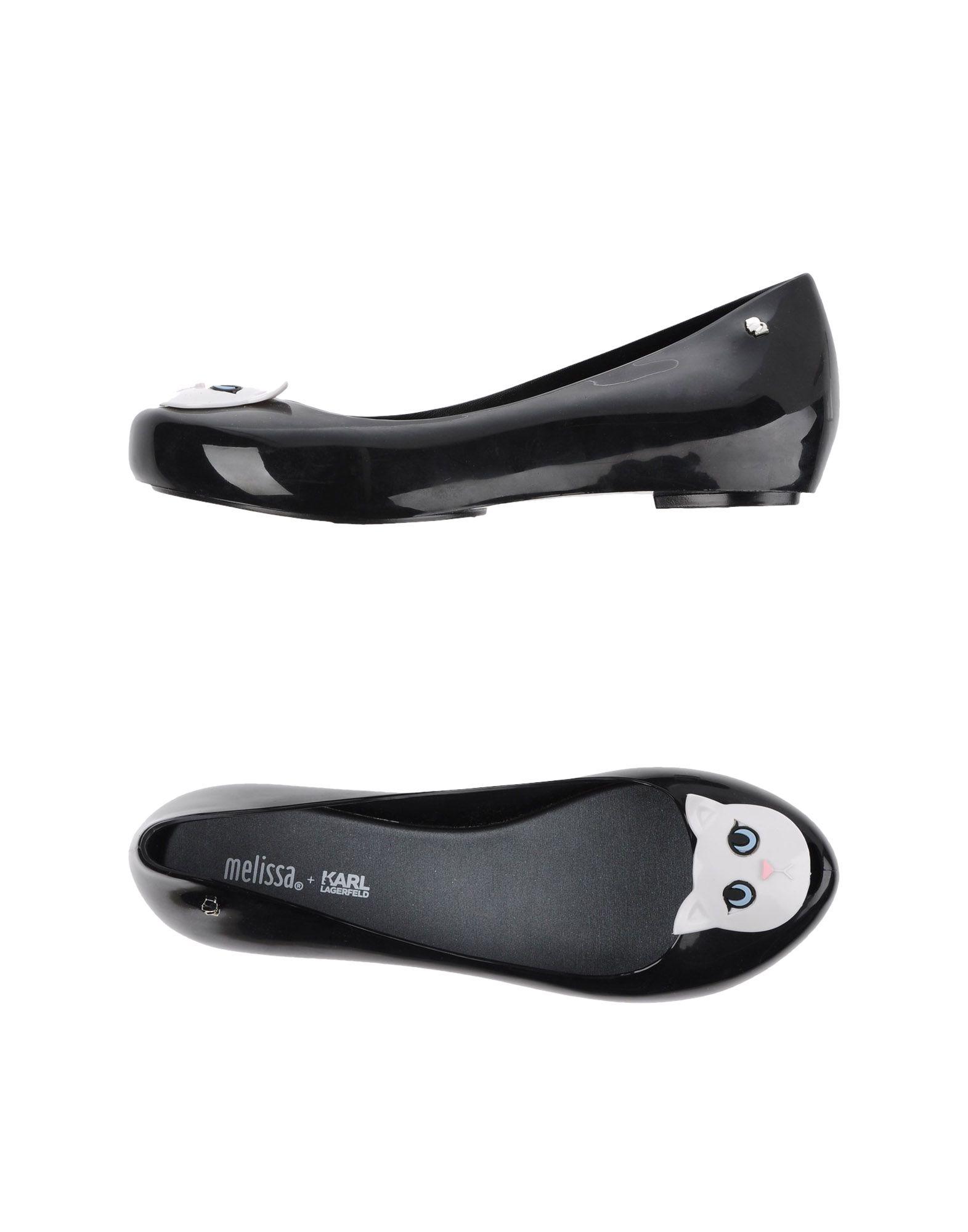 MELISSA + KARL LAGERFELD Туфли цены онлайн