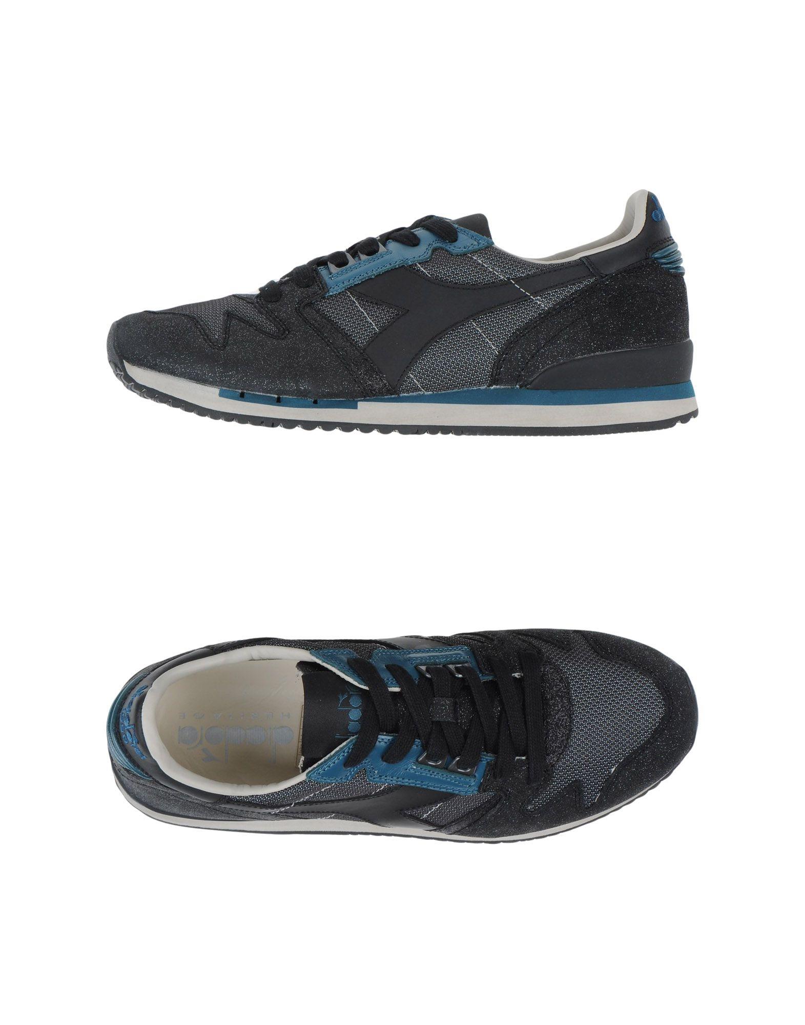 DIADORA HERITAGE Низкие кеды и кроссовки кроссовки diadora diadora di026amgorb1