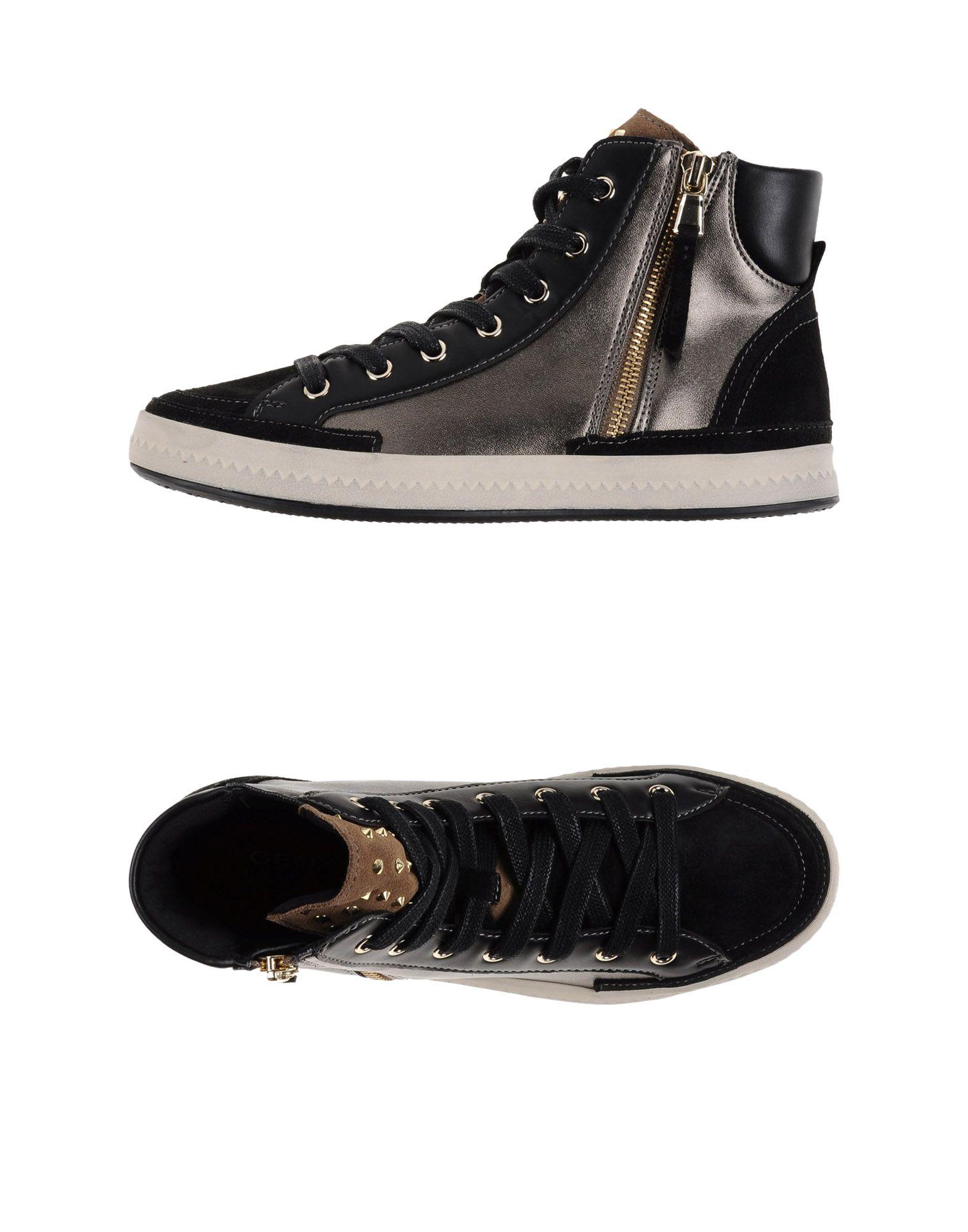 GEOX Высокие кеды и кроссовки native высокие кеды и кроссовки
