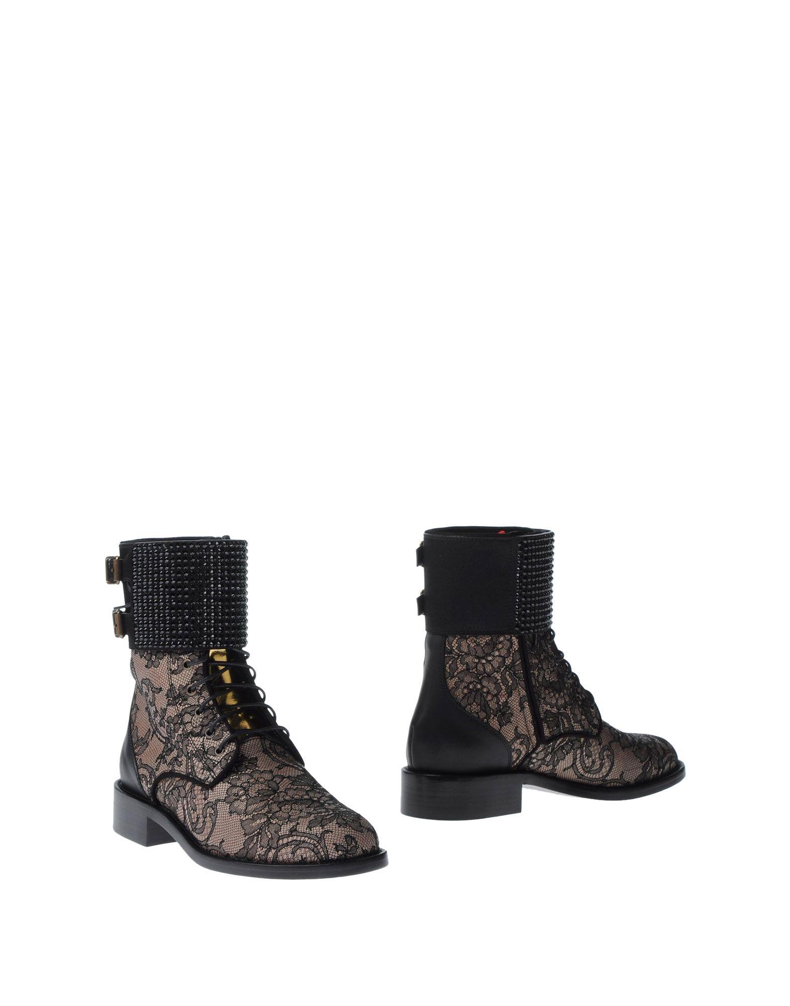 RENE' CAOVILLA Полусапоги и высокие ботинки