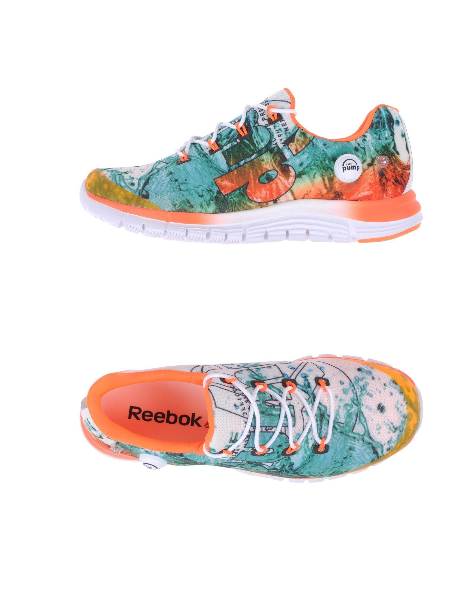REEBOK Низкие кеды и кроссовки lara hampton низкие кеды и кроссовки