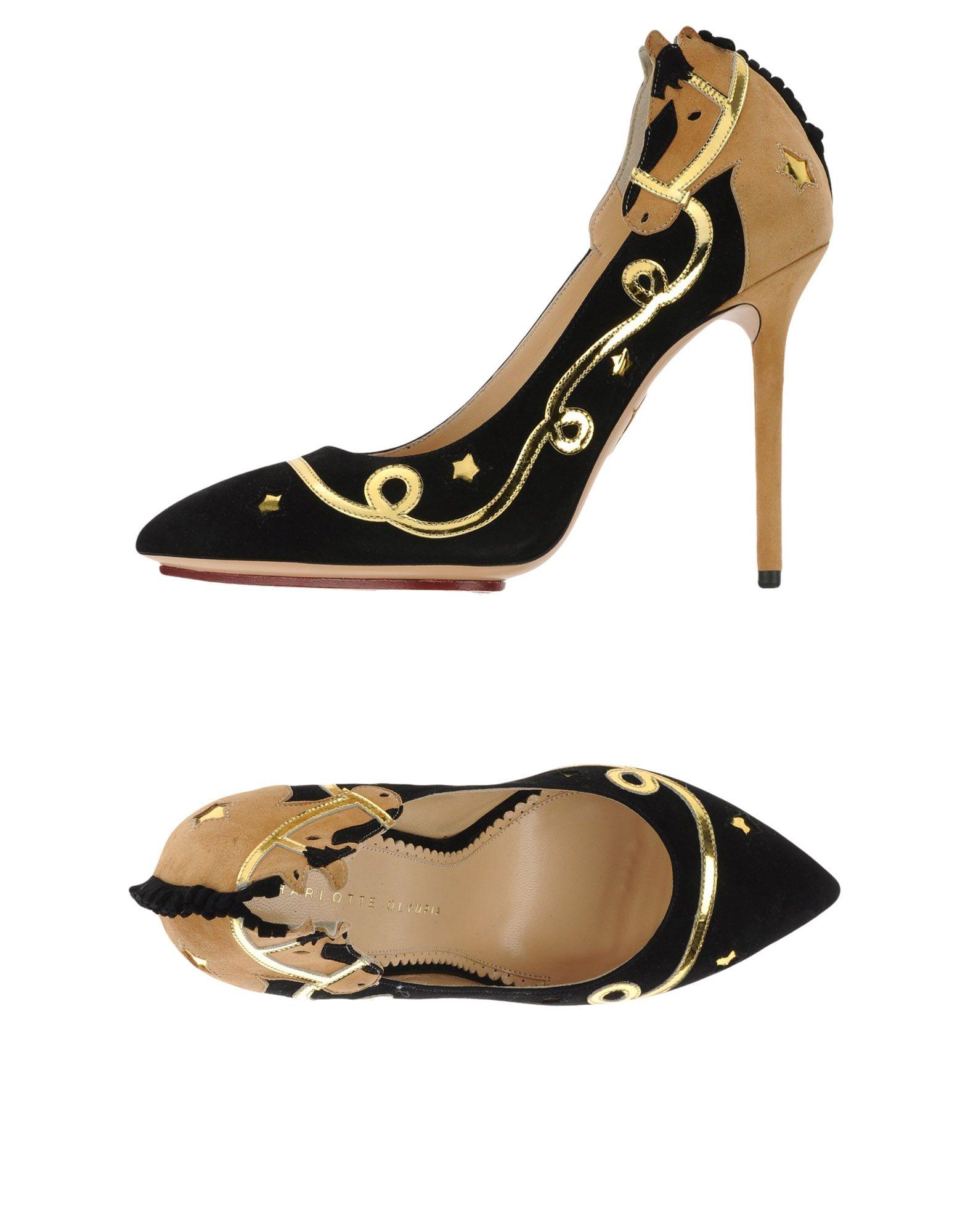 Фото - CHARLOTTE OLYMPIA Туфли bonpoint кожаные туфли