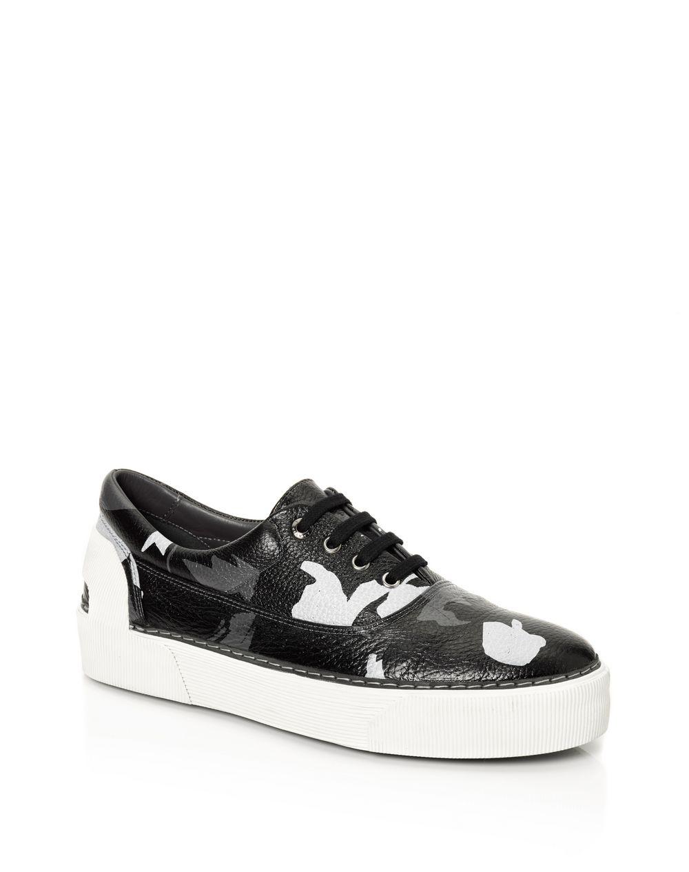 """Oxford """"Flowers"""" sneakers in calfskin - Lanvin"""