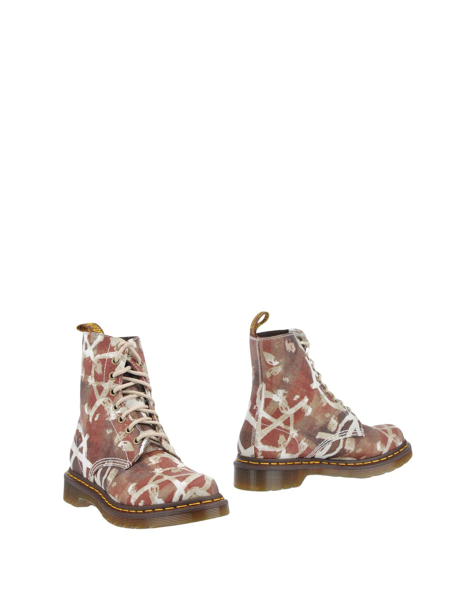 DR. MARTENS Полусапоги и высокие ботинки ботинки женские dr martens 1460 pascal цвет синий 13512410 размер 4 37