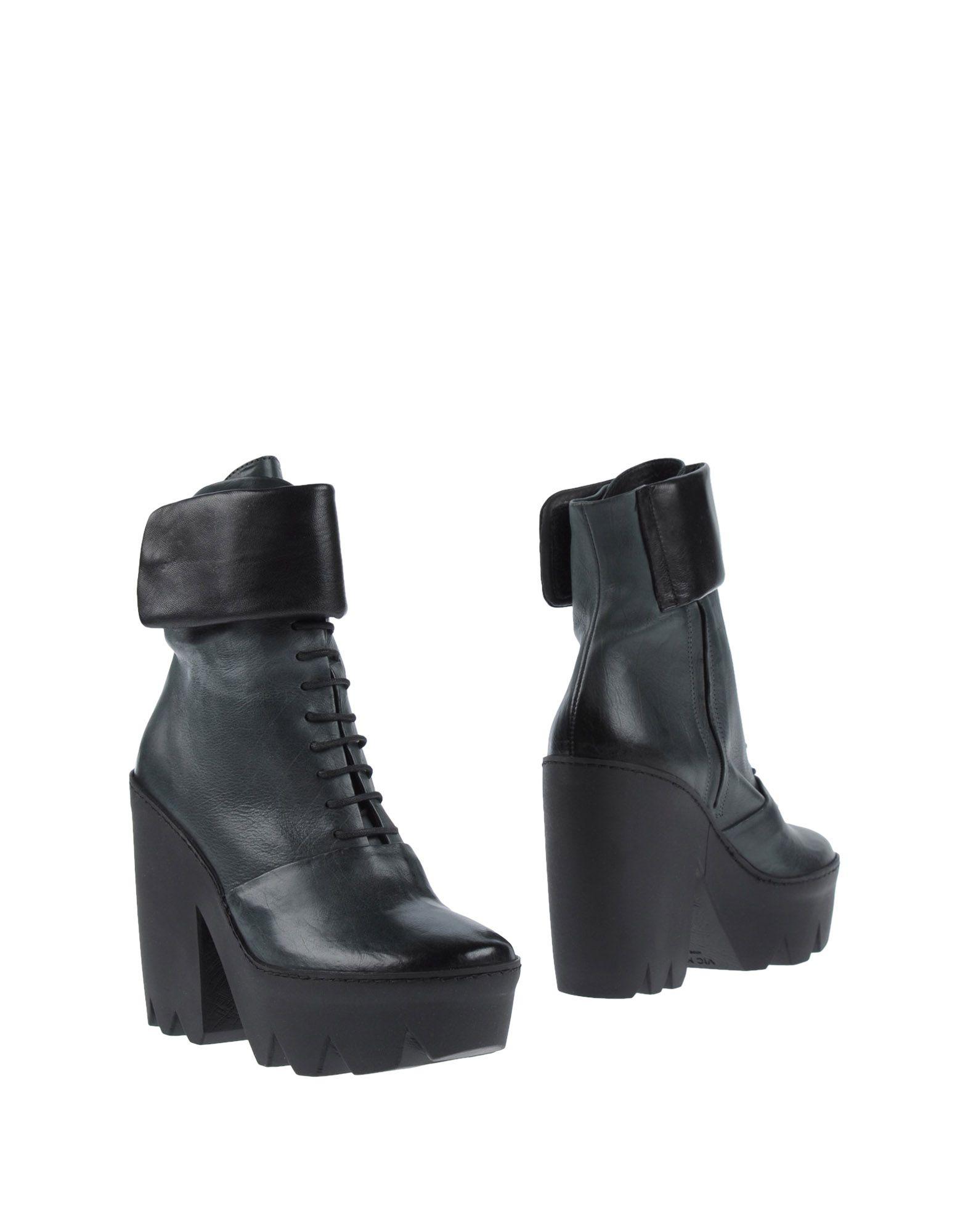 VIC MATIĒ Полусапоги и высокие ботинки vic matie стильные белые женские ботильоны итальянского бренда vic matie