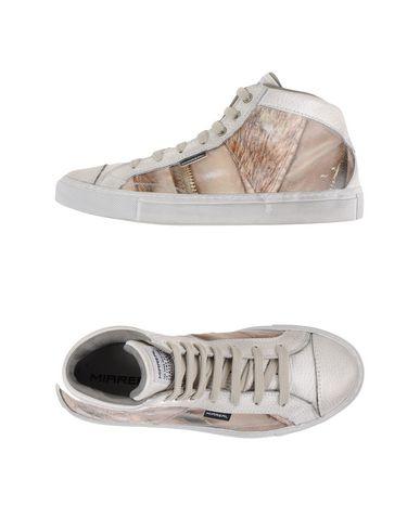 Фото - Высокие кеды и кроссовки от MIAREAL белого цвета