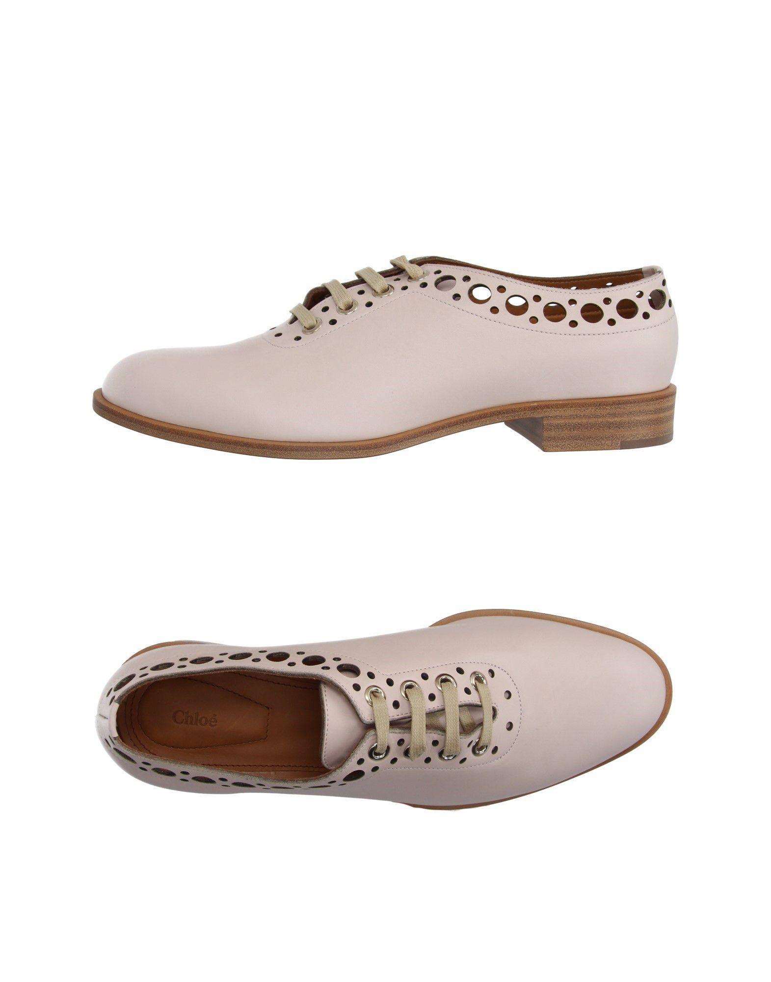 Фото - CHLOÉ Обувь на шнурках обувь на высокой платформе dkny