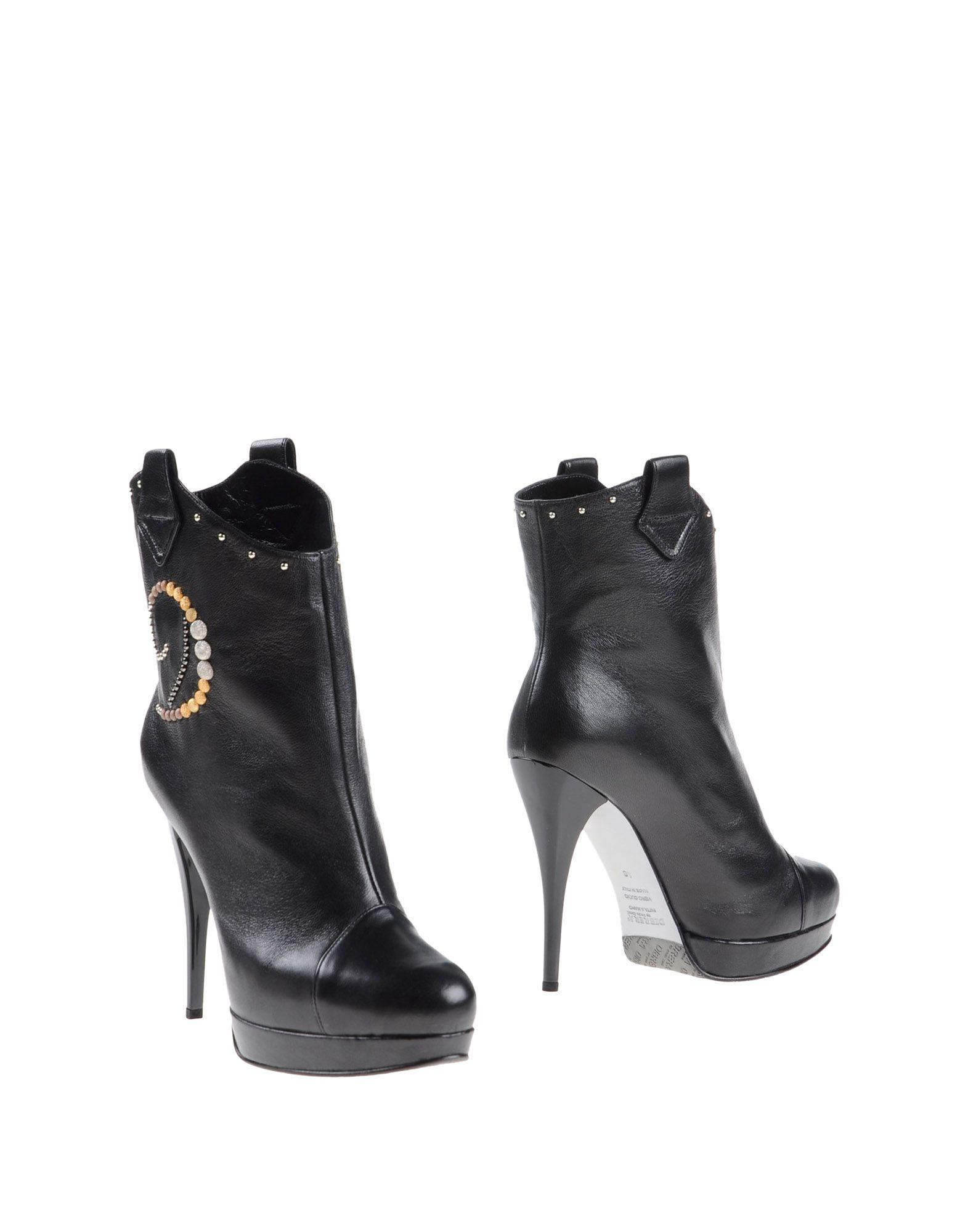 DIBRERA BY PAOLO ZANOLI Полусапоги и высокие ботинки цены онлайн