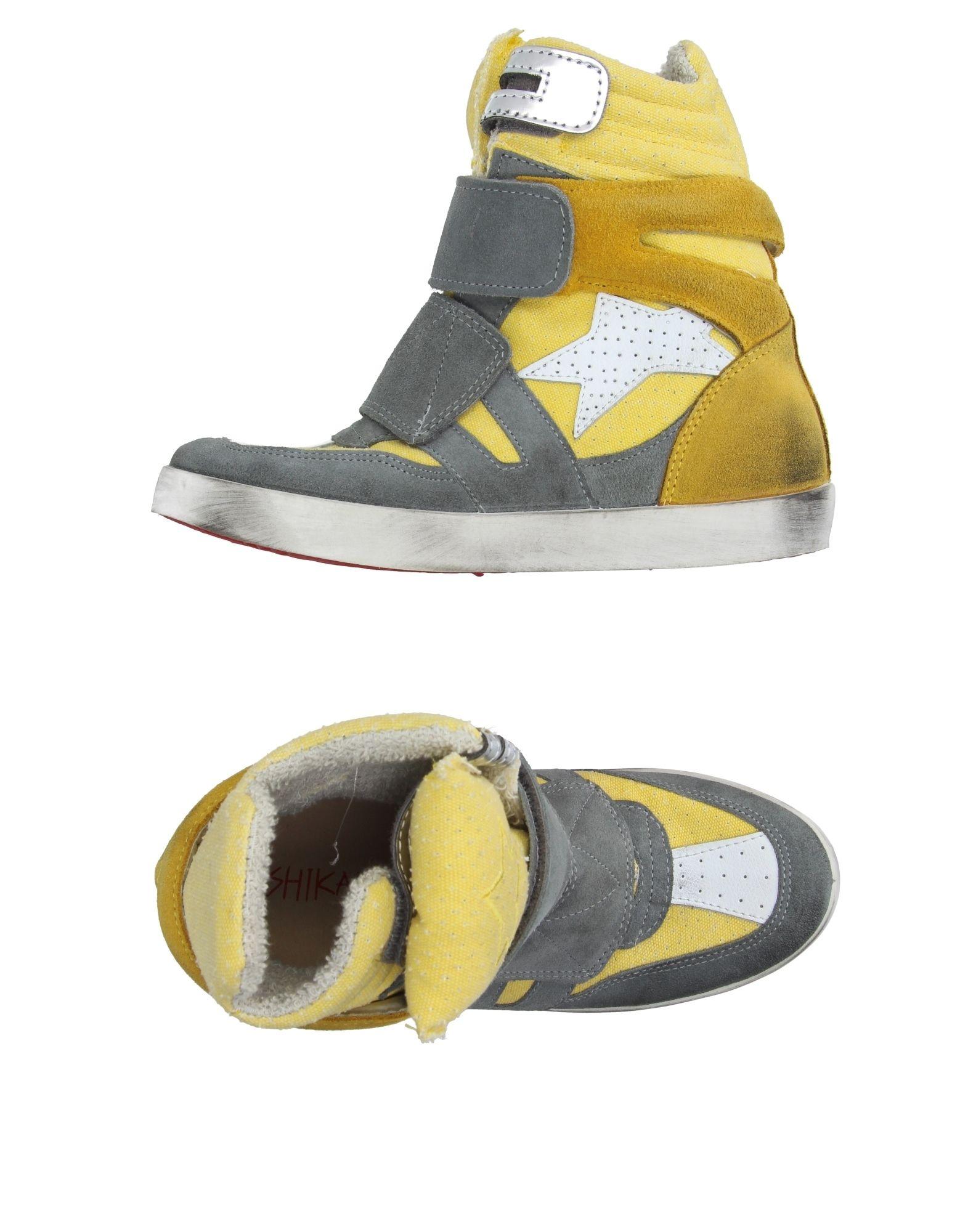 ISHIKAWA Высокие кеды и кроссовки native высокие кеды и кроссовки