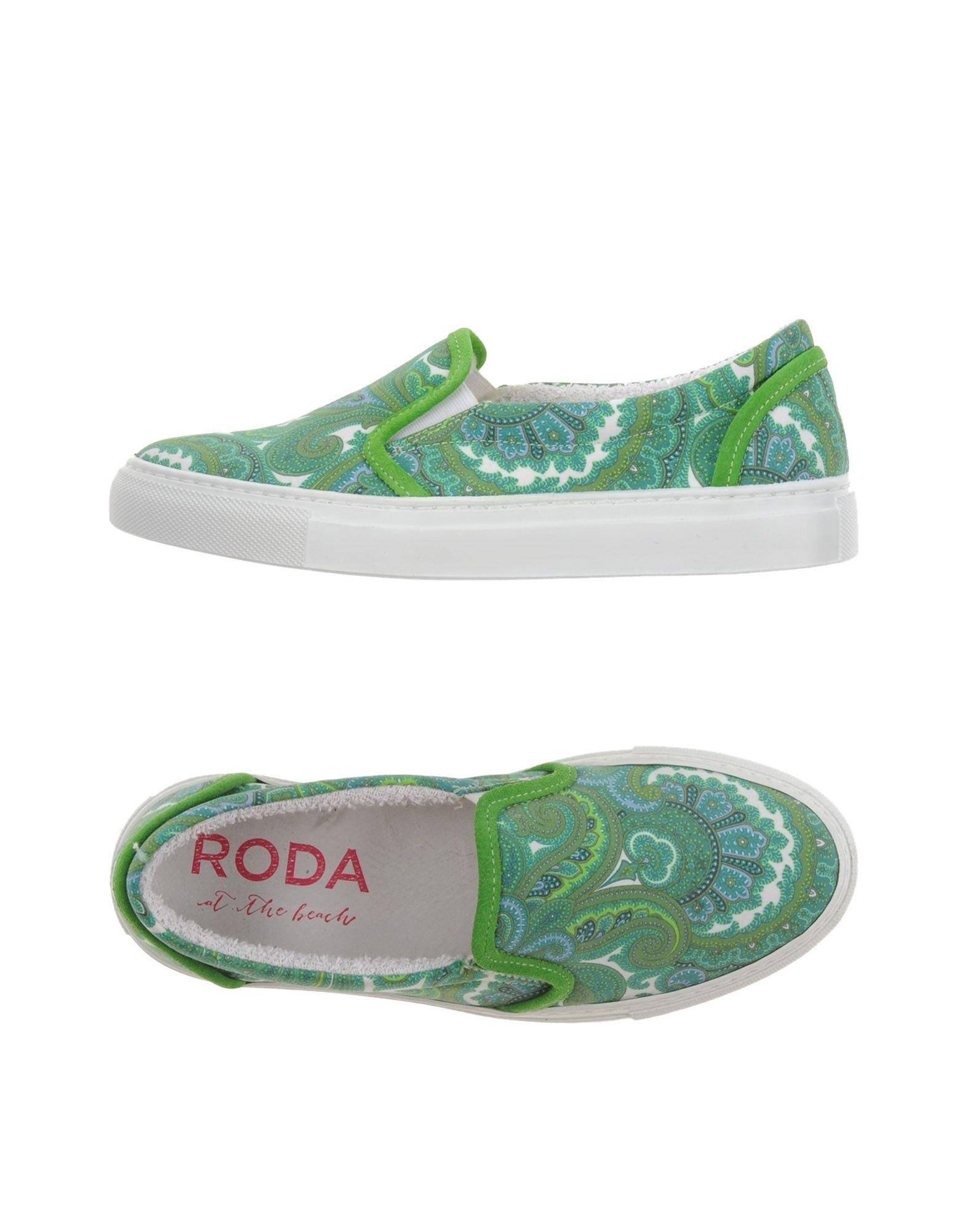 RODA AT THE BEACH Низкие кеды и кроссовки