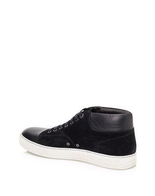 LANVIN SUEDE CALFSKIN MID-TOP SNEAKER Sneakers U d