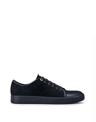 LANVIN DBB1 SUEDE CALFSKIN SNEAKER Sneakers U f