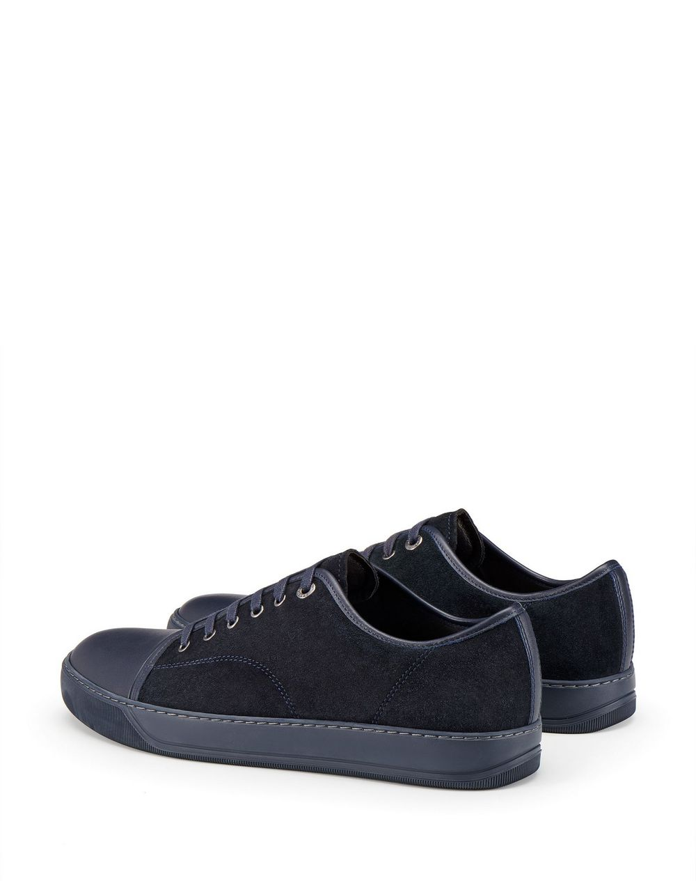 DBB1 SUEDE AND LEATHER SNEAKERS - Lanvin