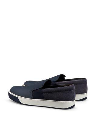 LANVIN GRAINED CALFSKIN SLIP-ON Sneakers U d