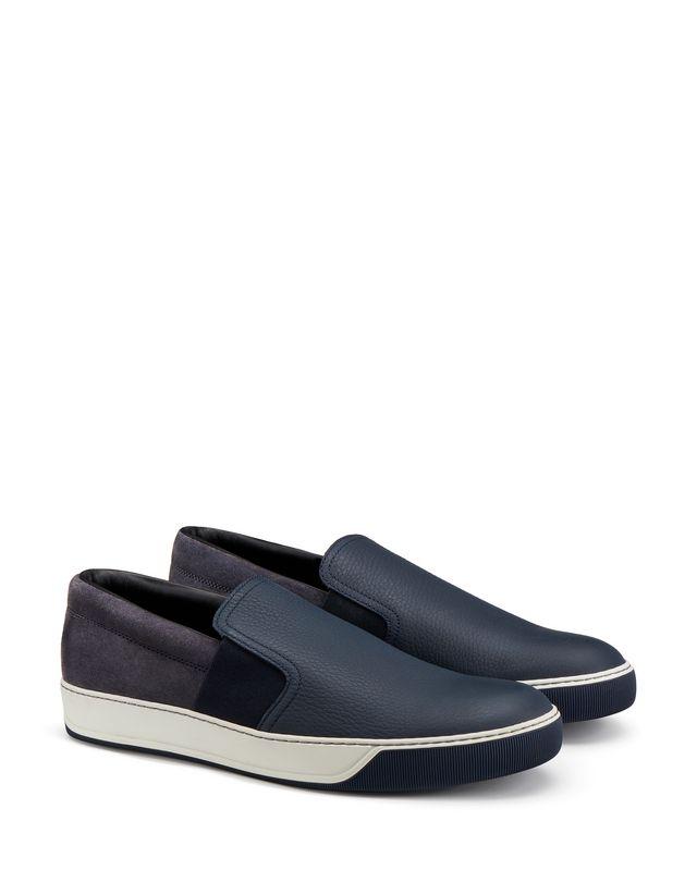 LANVIN GRAINED CALFSKIN SLIP-ON Sneakers U r