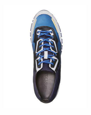 LANVIN Runners in metallic fabric and sport mesh Sneakers U d