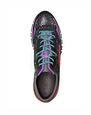 LANVIN Sneakers Man Patchwork runners in fluorescent dappled calfskin and metallic calfskin f