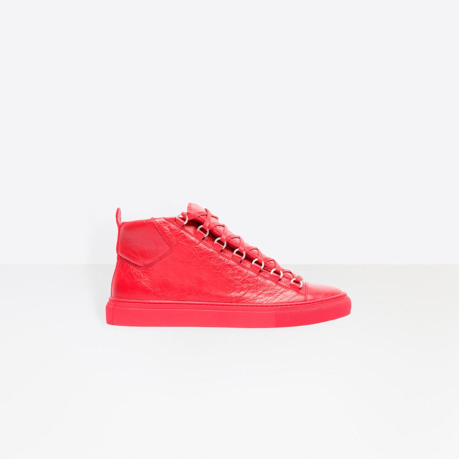 BALENCIAGA High Sneakers Arena Sneakers Man f