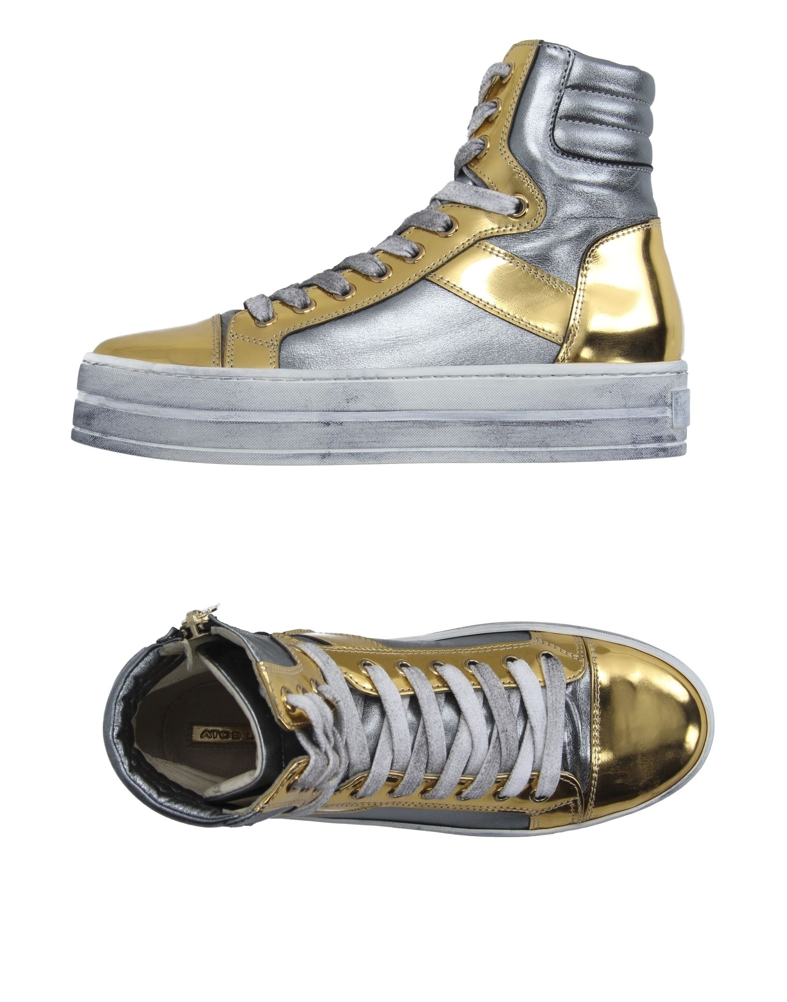 ATOS LOMBARDINI Высокие кеды и кроссовки atos lombardini полусапоги и высокие ботинки