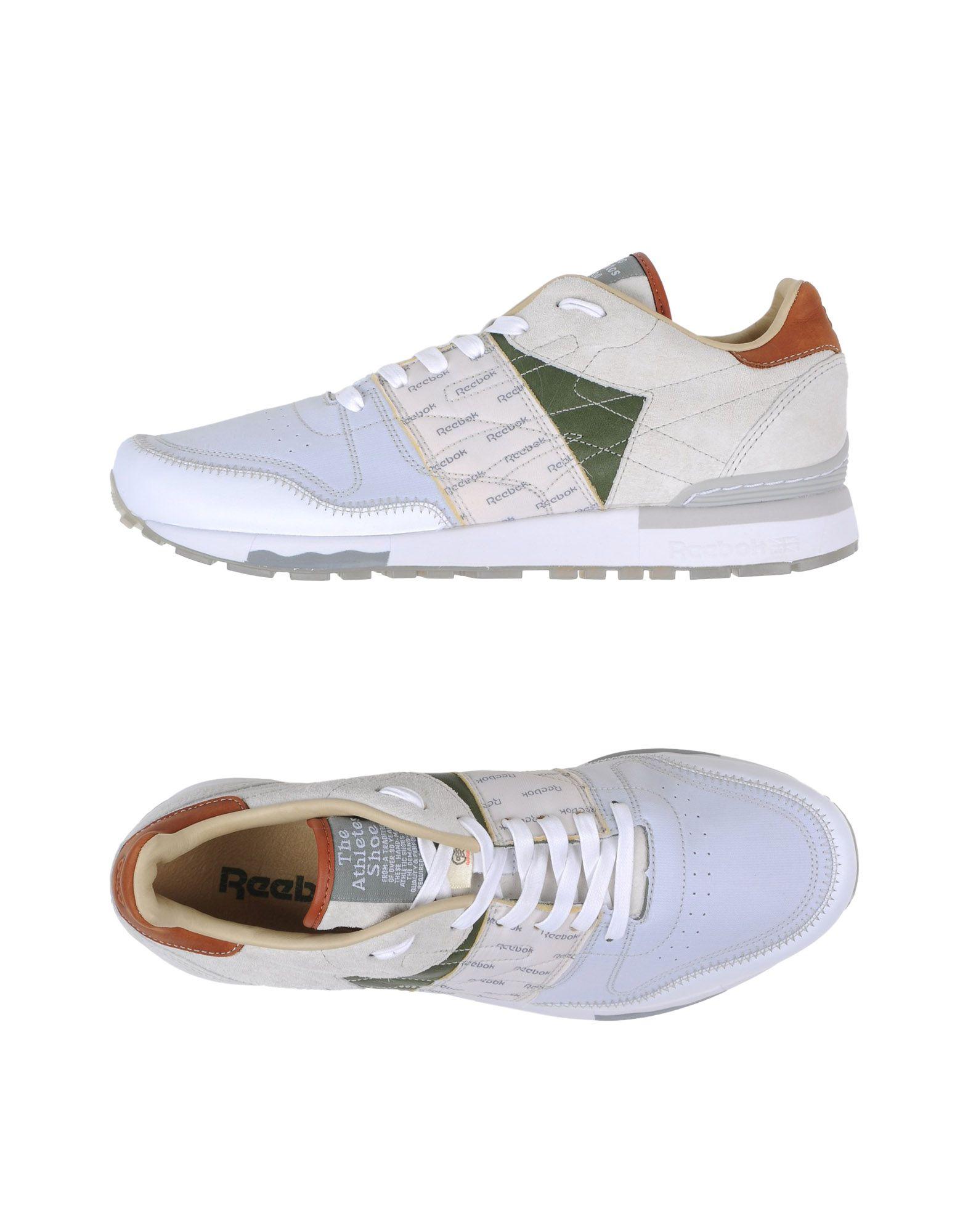 REEBOK Низкие кеды и кроссовки кроссовки reebok cl nylon color