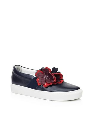 LANVIN Sneakers D EMBROIDERED SLIP-ON F