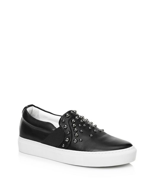 lanvin pull-on sneakers women