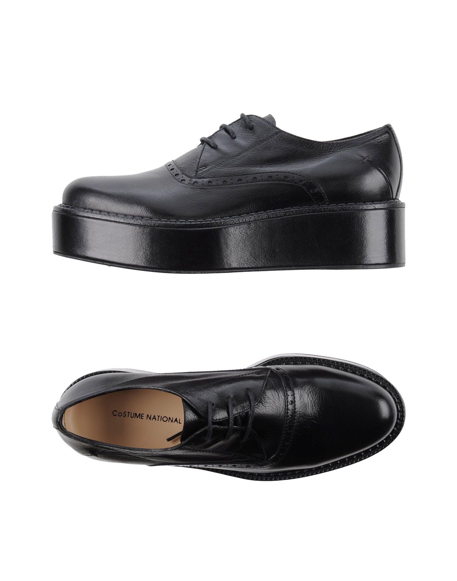 где купить COSTUME NATIONAL Обувь на шнурках по лучшей цене