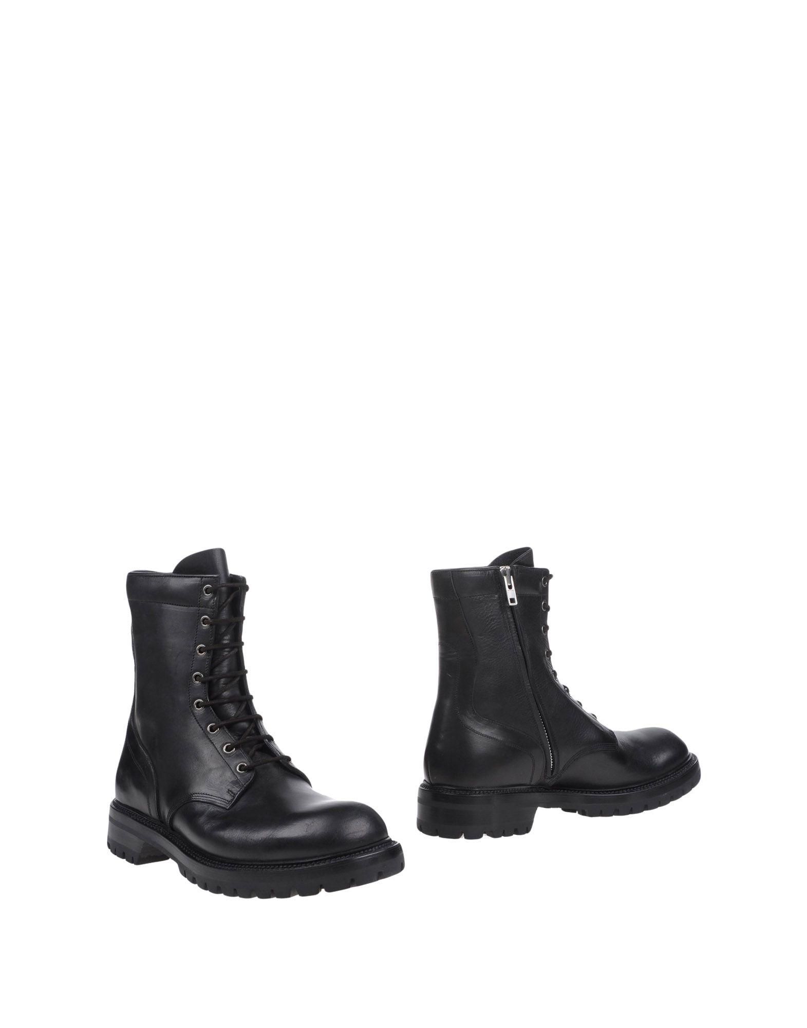 RICK OWENS Полусапоги и высокие ботинки