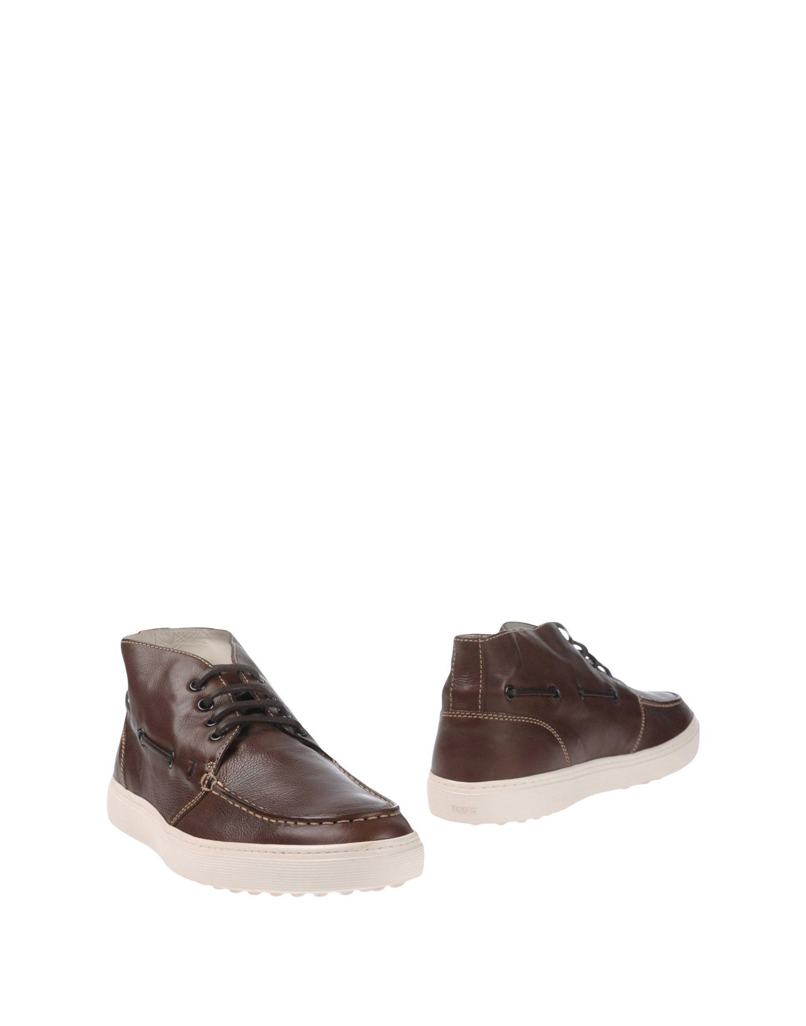TOD'S Полусапоги и высокие ботинки фото