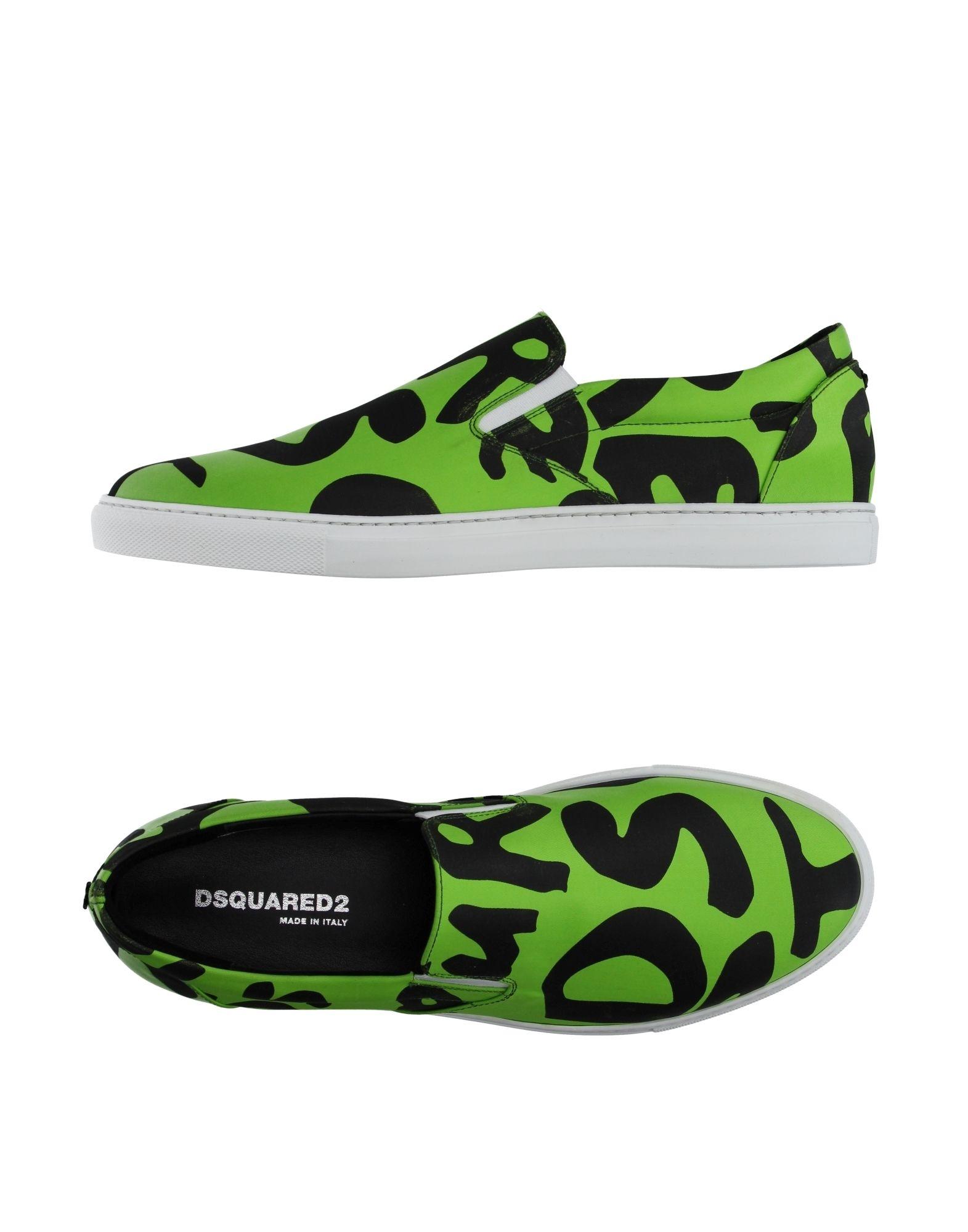 DSQUARED2 Низкие кеды и кроссовки