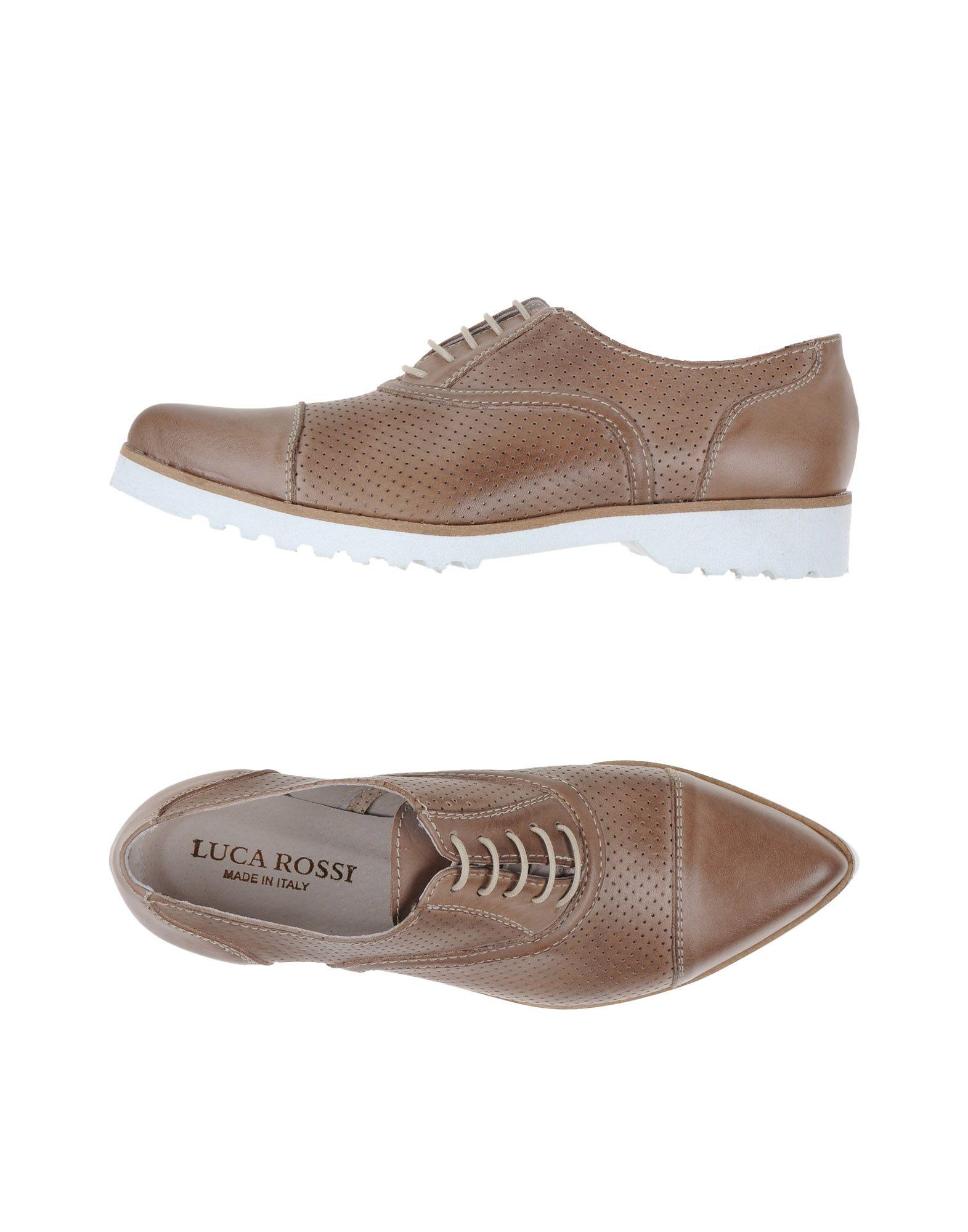 цена LUCA ROSSI Обувь на шнурках онлайн в 2017 году