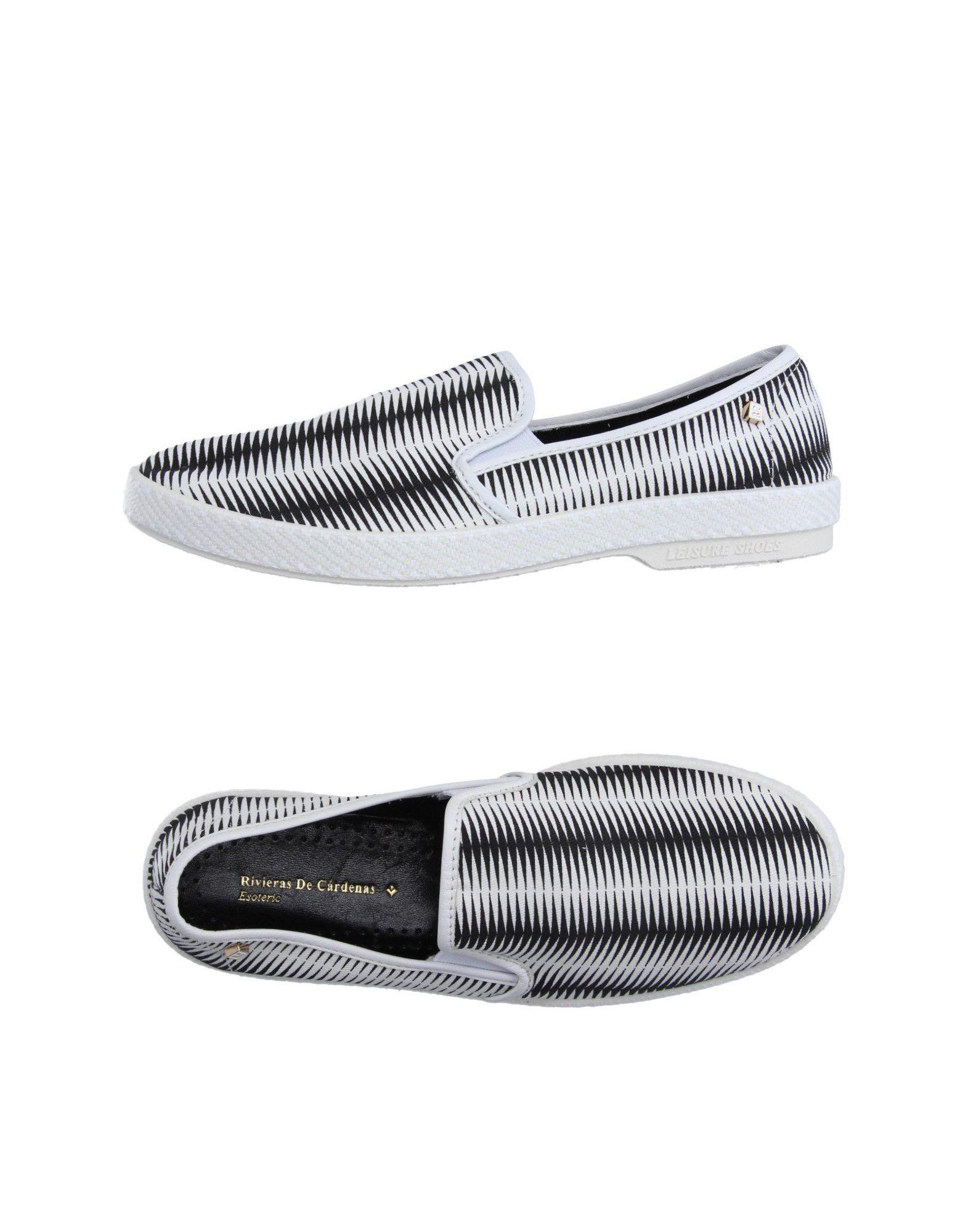 《送料無料》RIVIERAS レディース スニーカー&テニスシューズ(ローカット) ホワイト 39 紡績繊維