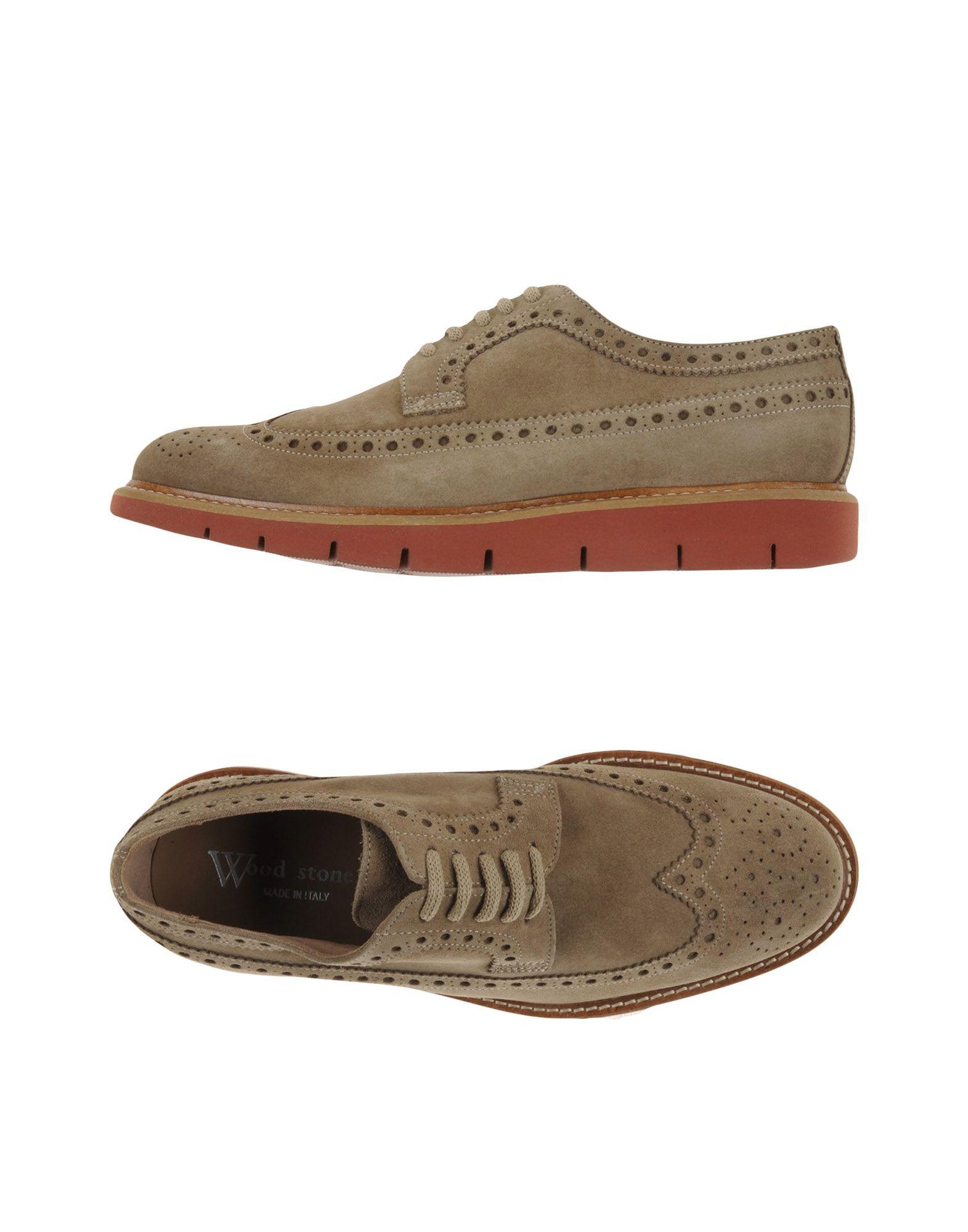 WOOD STONE Обувь на шнурках wood stone обувь на шнурках